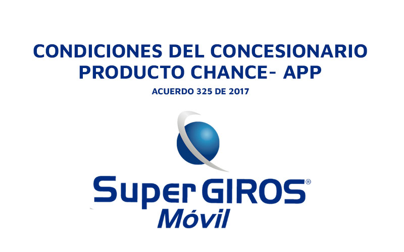 Chance Aplicacion SuperGIROS Movil