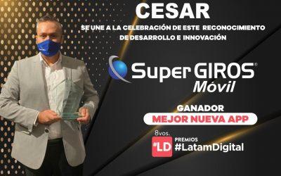 SuperGIROS Móvil, la mejor App de Latinoamérica.