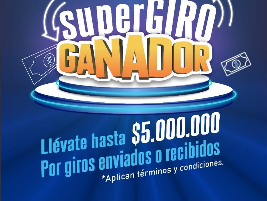 PROMOCIONAL SUPERGIRO GANADOR