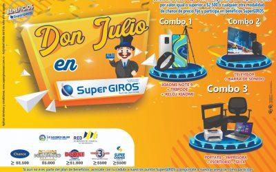 Promocional Don Julio Con SuperGIROS