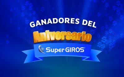 Ganadores Aniversario SuperGIROS